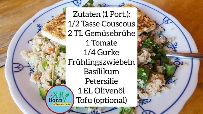 veganes couscous rezept