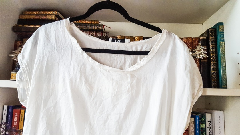 Upcycling Shirt Sticken