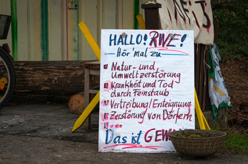 Aktivisten Lützerath Garzweiler