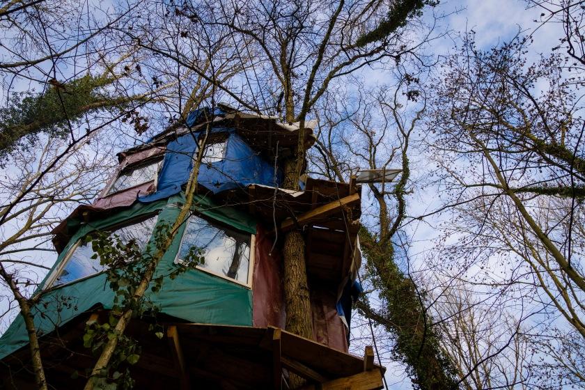 Unser aller Wald Baumhaus Keyenberg